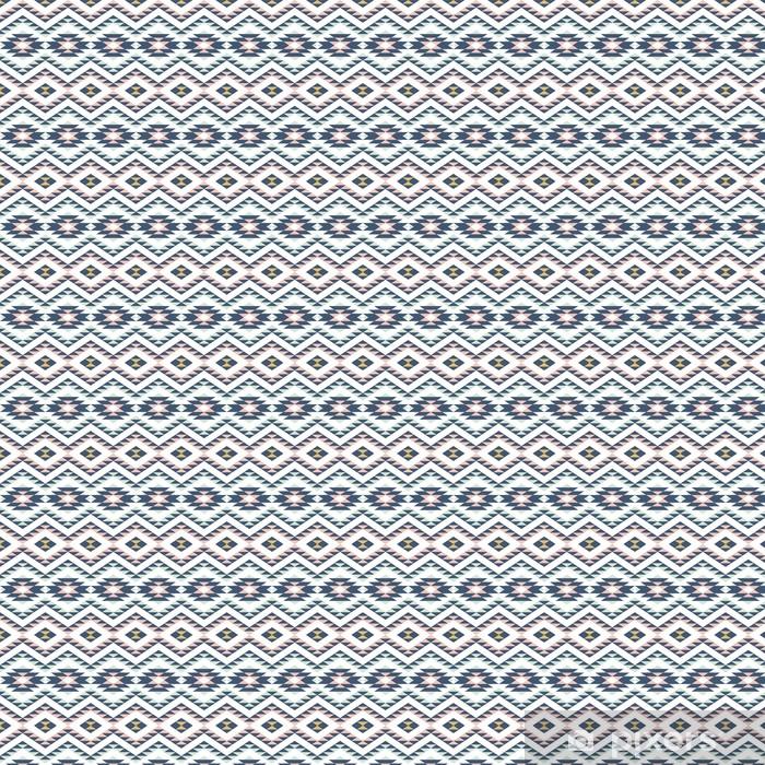 Vinyl behang, op maat gemaakt Naadloos patroon met etnische ornament - Grafische Bronnen