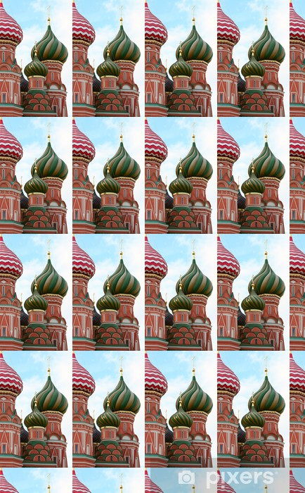 Fragment Cathedral of Saint Basil, Russia, Moscow Vinyl Custom-made Wallpaper - Public Buildings