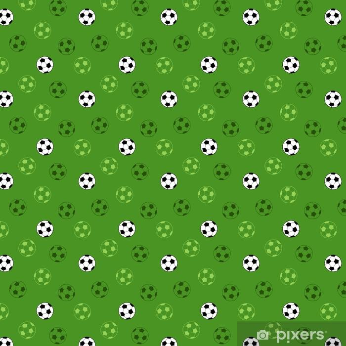 Piłka nożna piłka nożna sport graficzny grafika zielony tło wektor wzór ilustracja