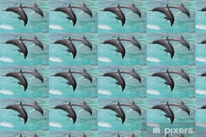 Tapeta na wymiar winylowa Delfiny skoków - Tematy