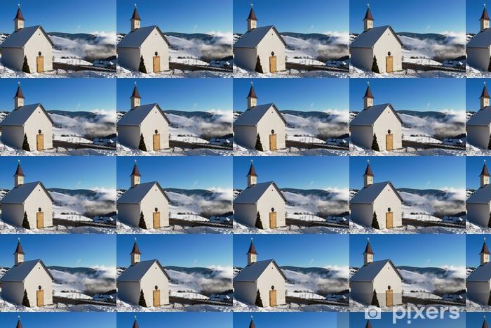 Papier peint vinyle sur mesure Le petit churche - Religion