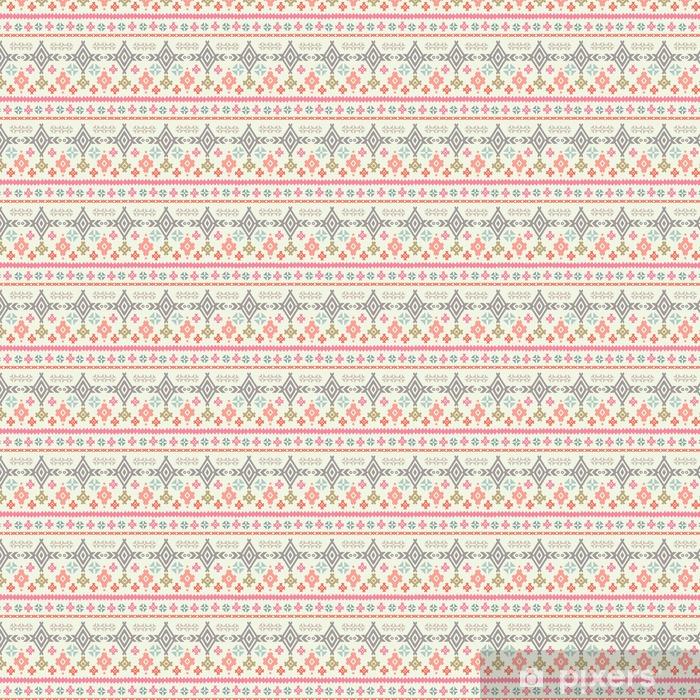 Tribal art ethnic boho seamless pattern Vinyl custom-made wallpaper - Graphic Resources