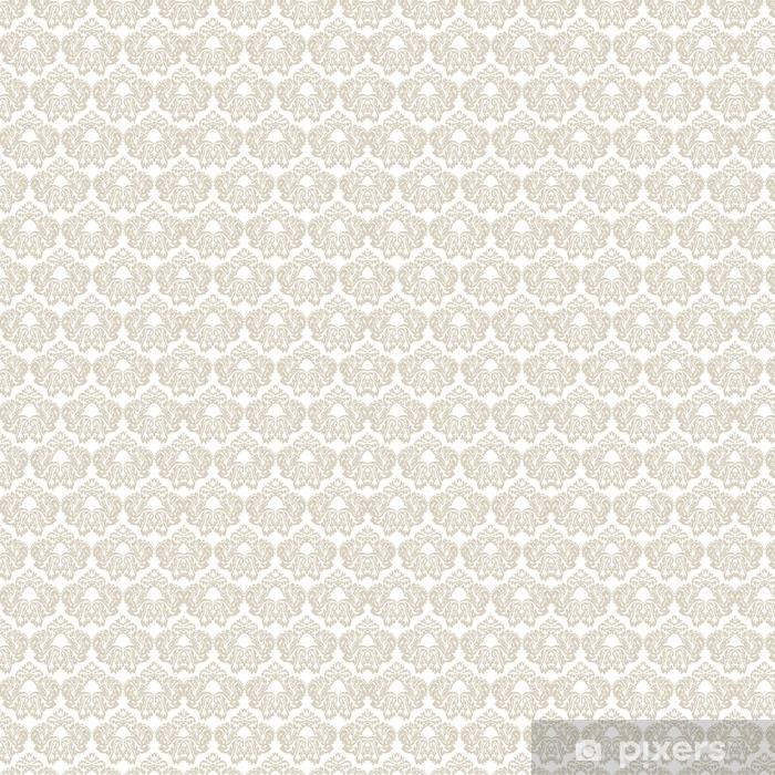 Tapeta na wymiar winylowa Wektor barokowy wzór kwiatowy wzór adamaszku. luksusowy klasyczny ornament, królewski wiktoriański tekstury na tapety, tekstylia, tkaniny. szary kolor - Zasoby graficzne
