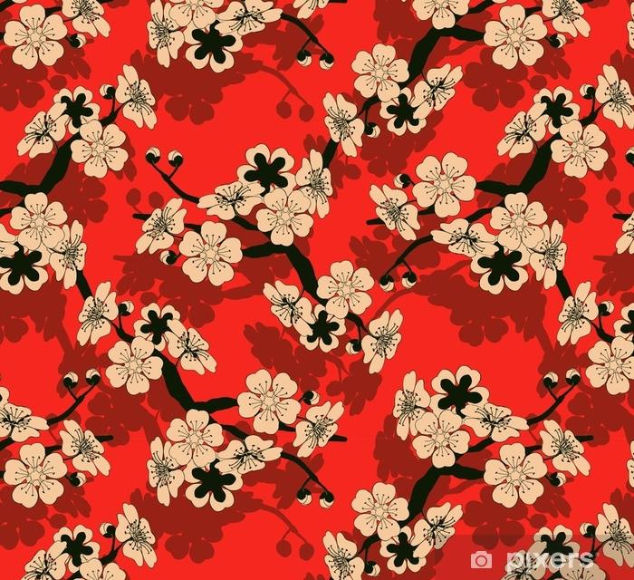 Papier Peint A Motifs Une Tuile Sans Couture De Style Japonais Avec