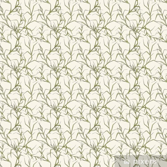 Papel pintado estándar a medida Patrón floral sin fisuras - Recursos gráficos