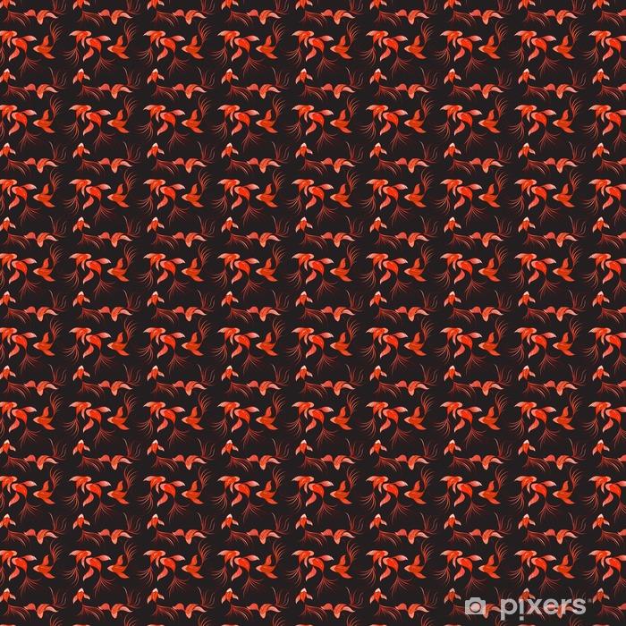 Papel pintado estándar a medida Fish seamless pattern - Recursos gráficos