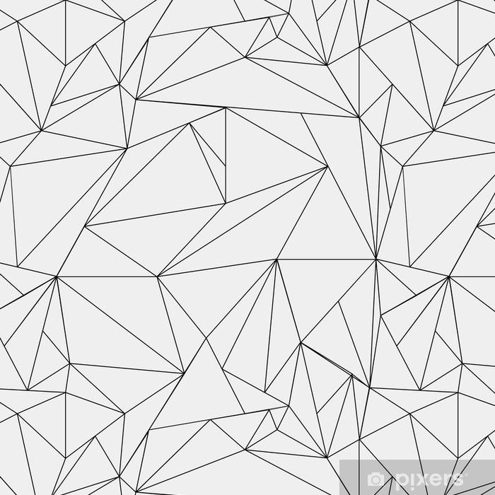 Papier Peint A Motifs Geometrique Simple Motif Minimaliste Noir Et
