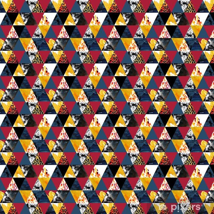 Carta da parati in vinile su misura Autunno acquerello ispirato seamless - Risorse Grafiche