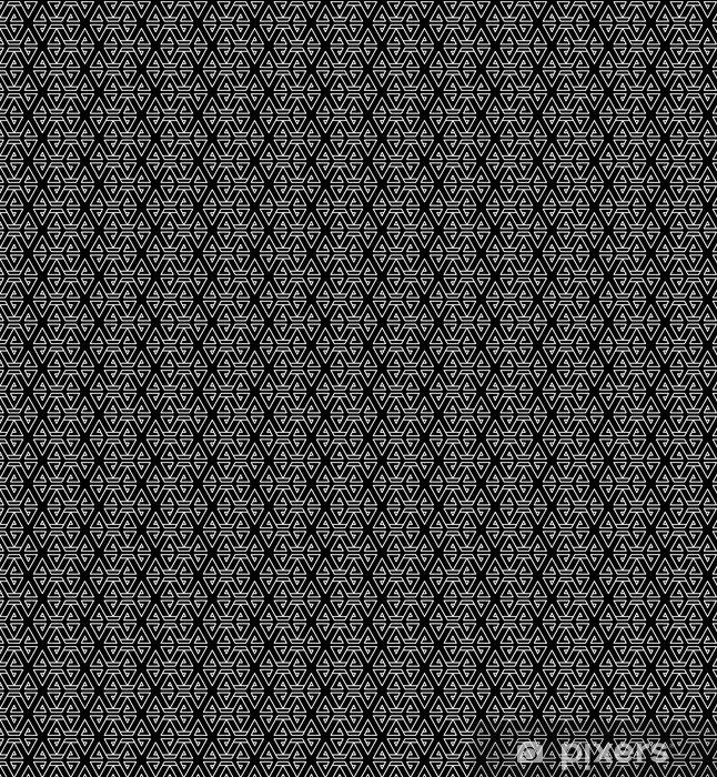 Abstract geometric black and white hipster fashion pillow pattern Vinyl custom-made wallpaper - Graphic Resources