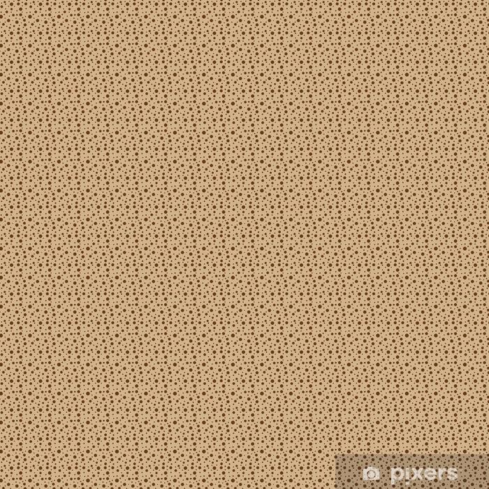Zelfklevend behang, op maat gemaakt Kleine polka dot naadloze patroon - Grafische Bronnen