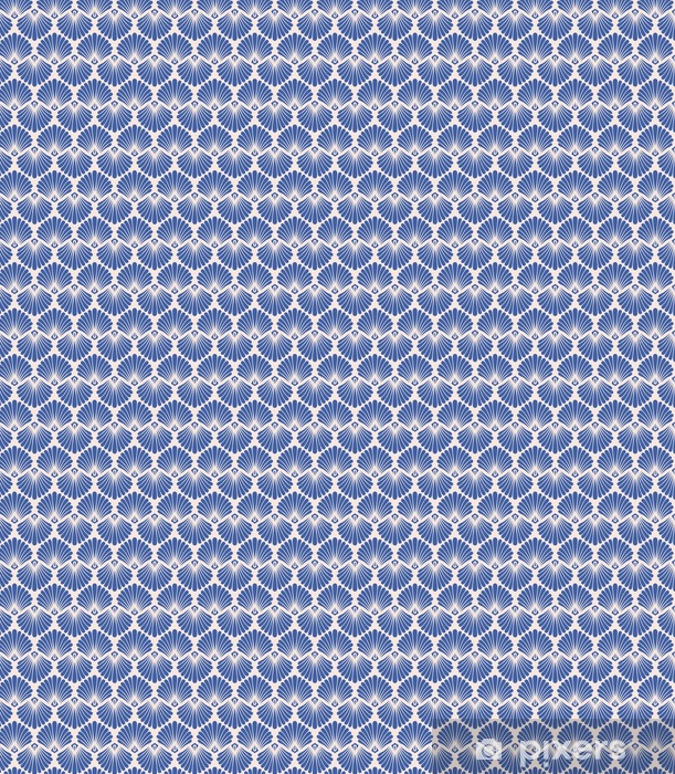 seamless vintage pattern Vinyl custom-made wallpaper - Graphic Resources