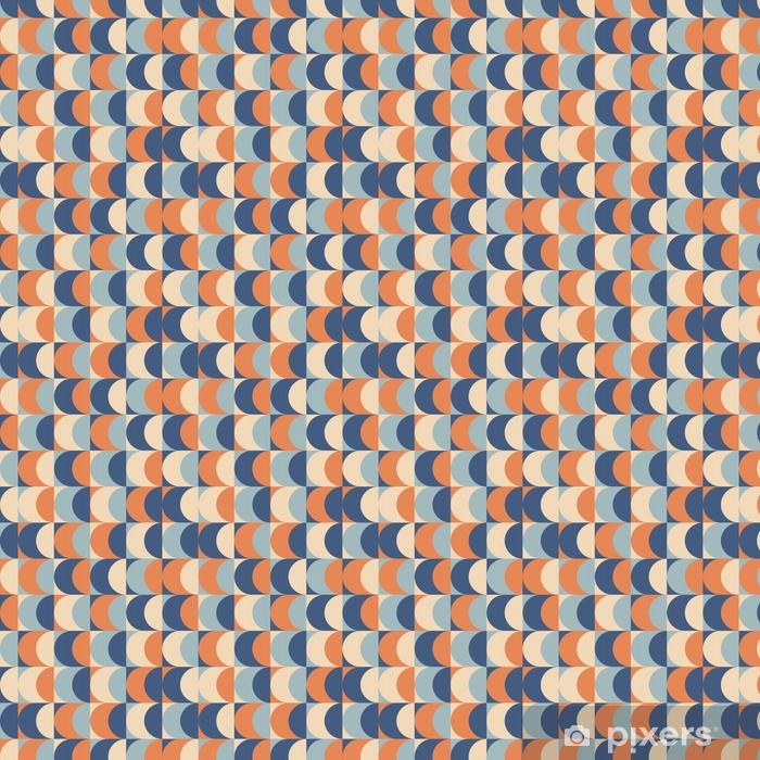 Papier peint vinyle sur mesure Motif géométrique vintage sans soudure - Ressources graphiques