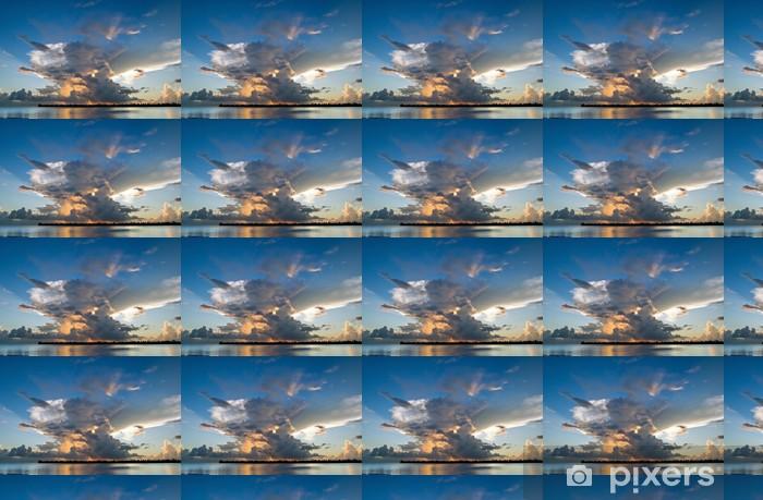 Vinylová tapeta na míru Výbušný slunce nad Maupiti Island, Francouzská Polynésie - Štěstí