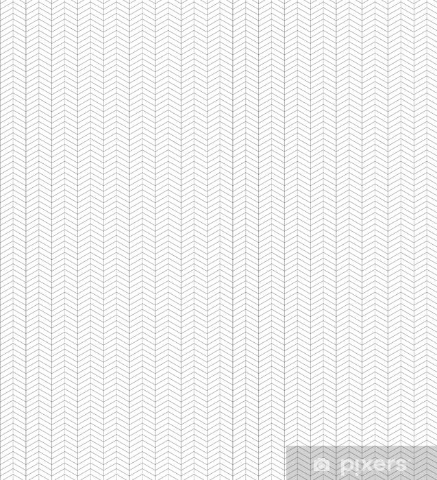 Papel pintado estándar a medida Textura de espina de pescado en blanco y negro sin fisuras. Fondo de vector para tarjetas de felicitación, papel de regalo y su creatividad - Recursos gráficos