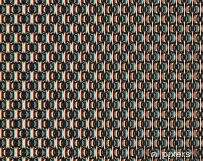 Tapeta na wymiar winylowa Retro powtarzalne tapety - vintage wektor wzór - Zasoby graficzne