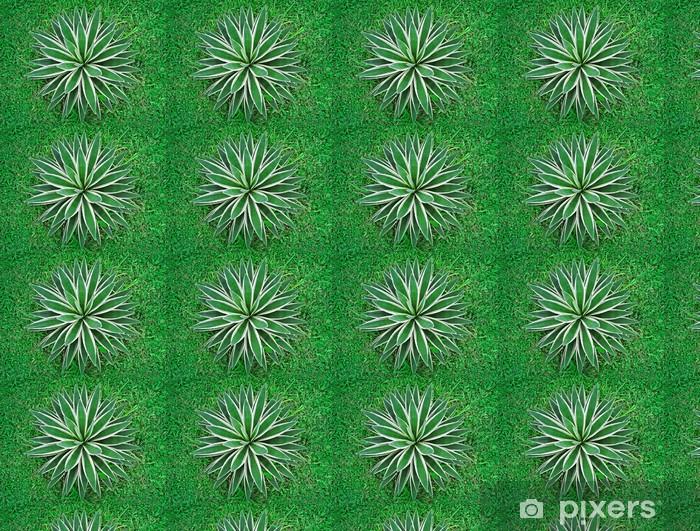 Vinyltapete nach Maß Tropische Pflanze Draufsicht - Landwirtschaft