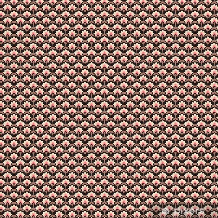 Tapeta na wymiar winylowa Jednolite rocznika wzór kwiatów - Zasoby graficzne
