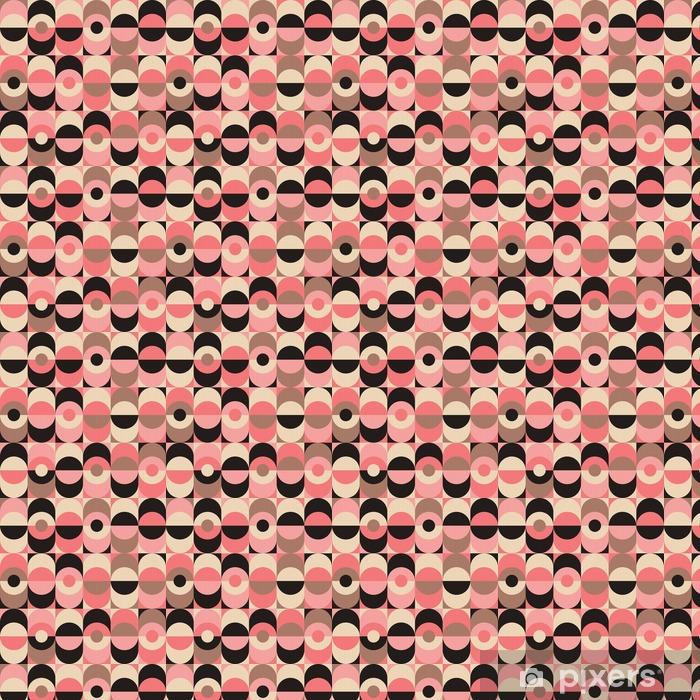 seamless vintage geometric pattern Vinyl custom-made wallpaper - Graphic Resources