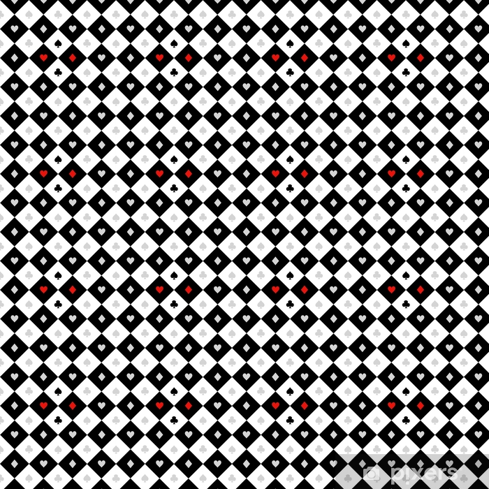 Card Suits Black White Chess Board Diamond Background Vector Illustration Wallpaper Pixers We Live To Change