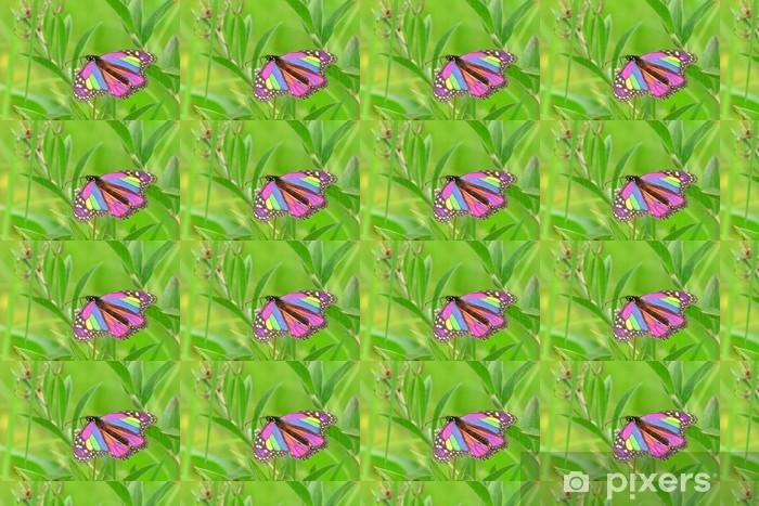 Papier peint vinyle sur mesure Rainbow butterfly - Saisons