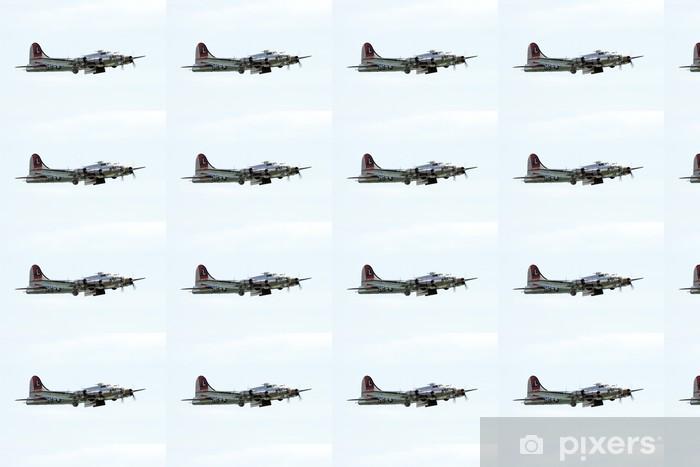 Papier peint vinyle sur mesure Bombardier - Dans les airs