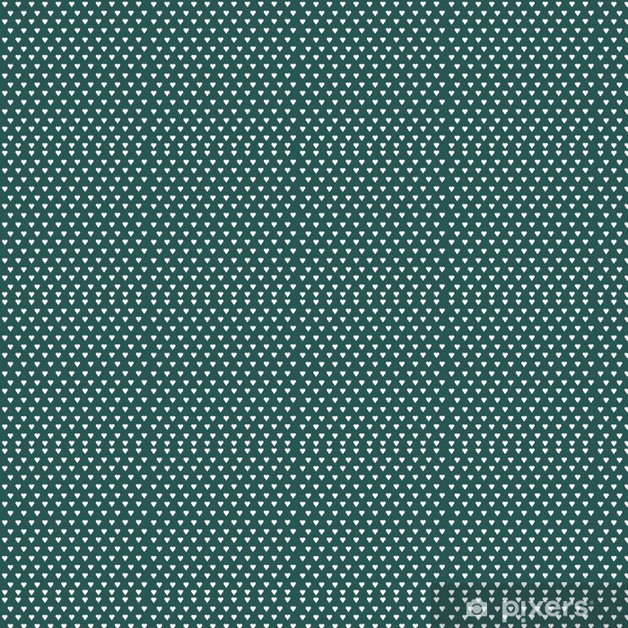 Seamless vector pattern with white hearts on pastel background Vinyl custom-made wallpaper - Graphic Resources