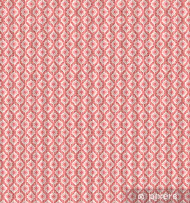 Spesialtilpasset vinyltapet Sømløs vintage geometrisk mønster - Grafiske Ressurser