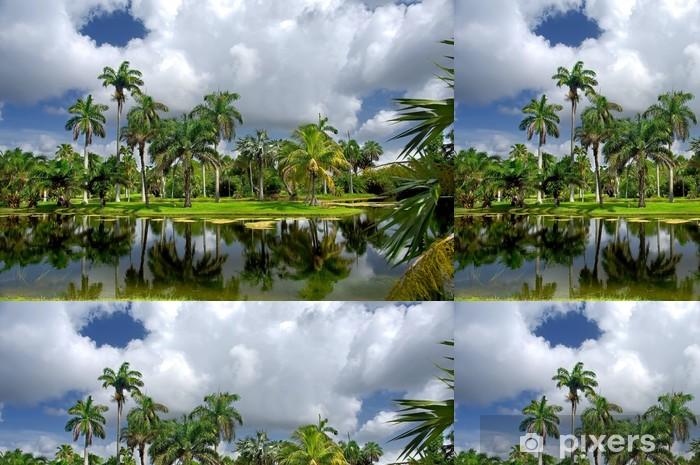 Vinyltapete Fairchild Tropical Botanic Garden, FL, USA - Amerika