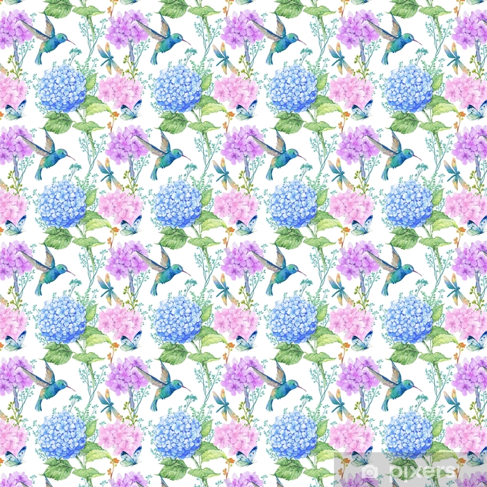 Seamless Pattern Illustration In Watercolorpatternornament To