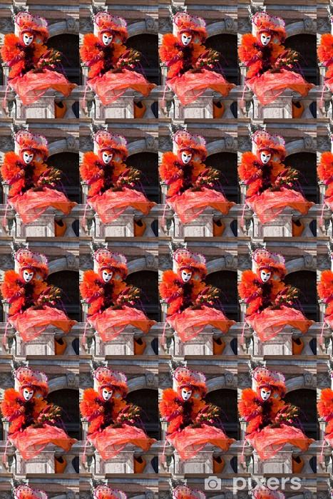 Venetsia Carnival puku Räätälöity vinyylitapetti - Euroopan Kaupunkeja
