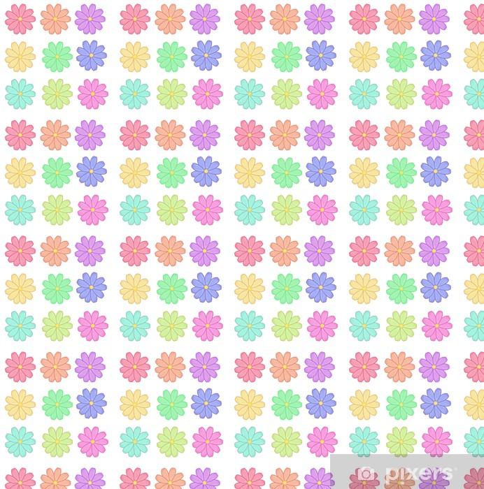 Papier peint vinyle sur mesure Fleures - Criteo