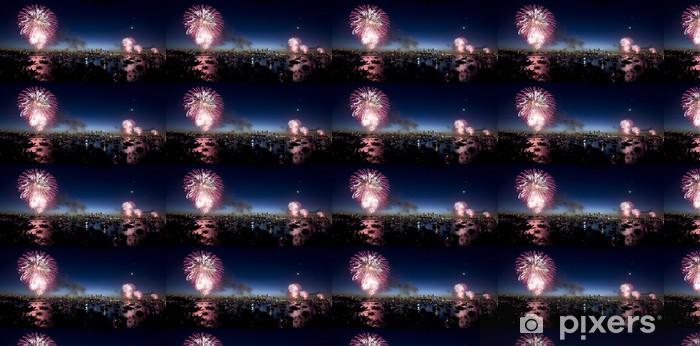 Sydney New Years Eve Fireworks Vinyl custom-made wallpaper - Holidays