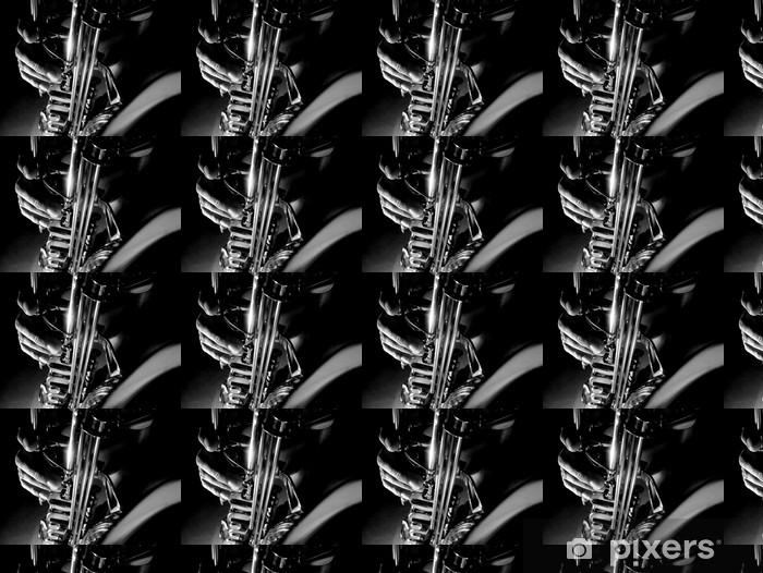 Vinyltapete nach Maß Shadow sax - Themen