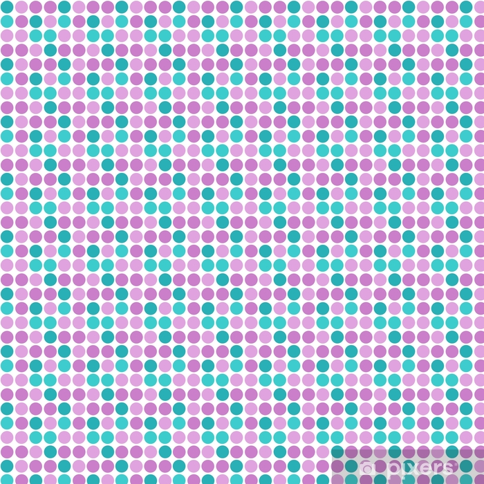 Abstract simple modern circles seamless pattern texture on white Vinyl custom-made wallpaper - Graphic Resources