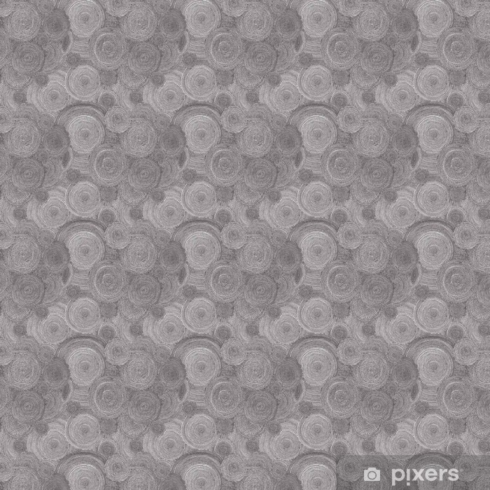 Seamless dot spiral pattern. Grungy circular motion mosaic, nois Self-adhesive custom-made wallpaper - Graphic Resources