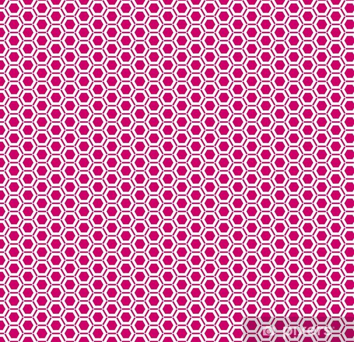 Abstrakcyjne geometryczne tło. sześciokątna siatka z osadzoną komórką