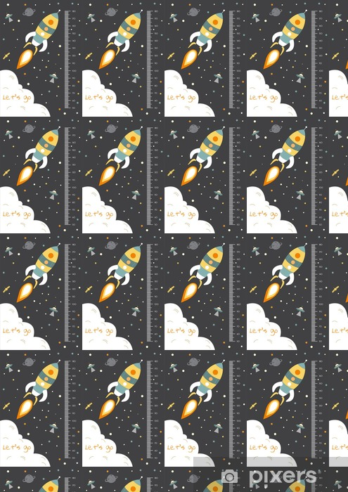 Space,Meter wall or height meter from 50 to 180 centimeter,Vector illustrations Vinyl custom-made wallpaper - Graphic Resources