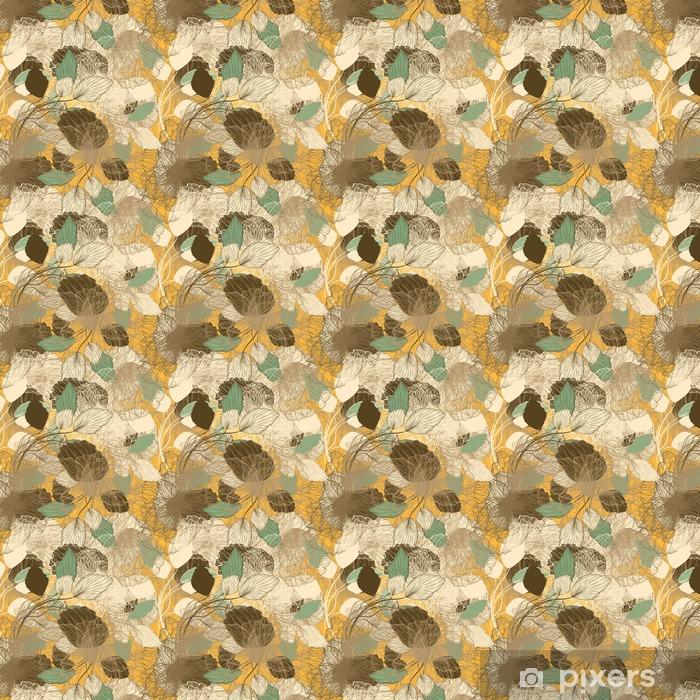 Tapeta na wymiar winylowa Powtarzalny streszczenie kwiatowy wzór - Zasoby graficzne