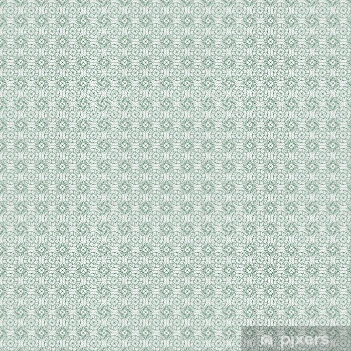 Tapeta na wymiar winylowa Jednolite abstrakcyjny wzór tła z zielonym ornament ozdoba samodzielnie na białym tle (przezroczyste). ilustracji wektorowych EPS - Zasoby graficzne