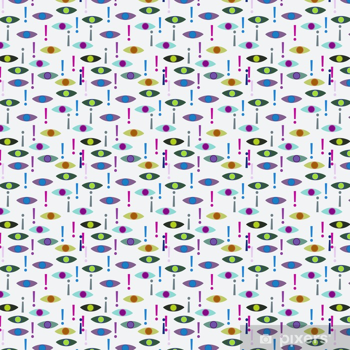 Vinyl behang, op maat gemaakt Abstracte naadloze achtergrond. - Grafische Bronnen