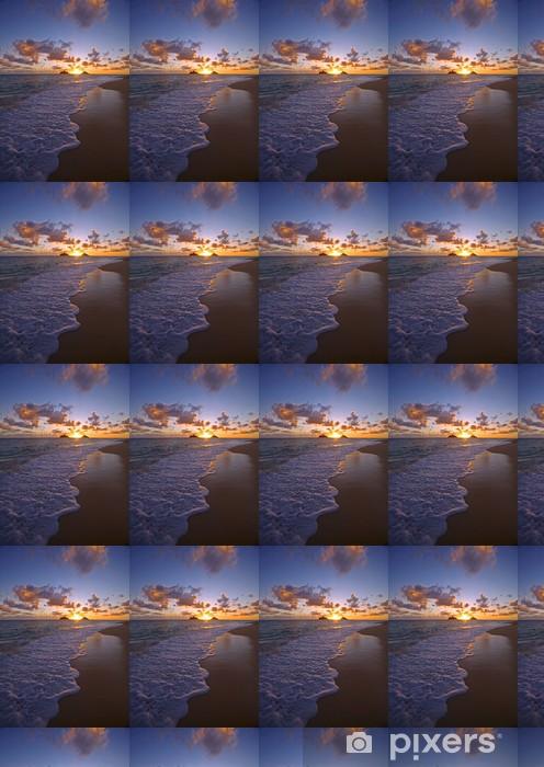 Papier peint vinyle sur mesure Pacifique lever du soleil à Lanikai plage à Hawaii - Thèmes