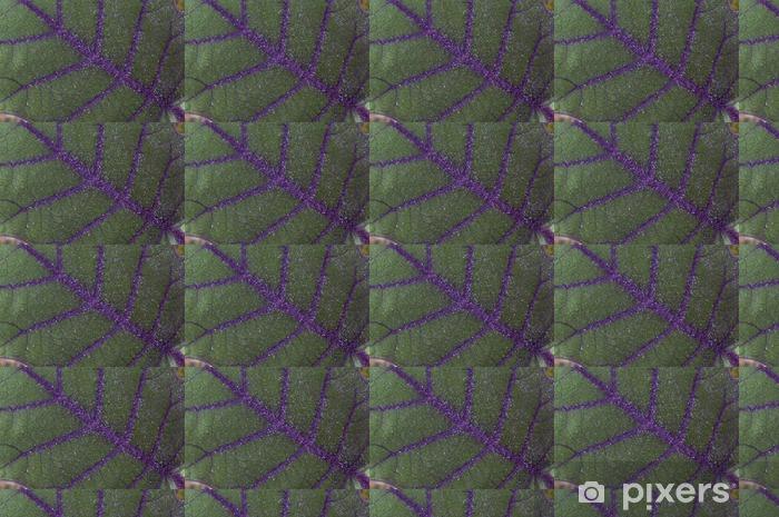 Vinylová tapeta na míru Fialová plísní Leaf v džungli, Cloud Forest - Rostliny a květiny
