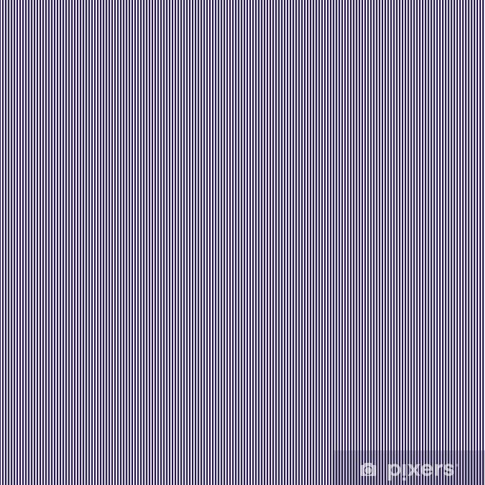 Papier peint autocollant sur mesure Seamless de fréquentes rayures bleues verticales foncées. Linéaire fond de rayures verticales. Vector illustration - Ressources graphiques