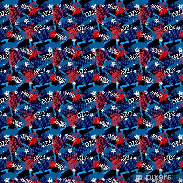 Papier Peint A Motifs Modele Sans Couture Abstraite Pour Les Filles Les Garcons Les Vetements Fond De Vecteur Creatif Avec Des Points Des Figures
