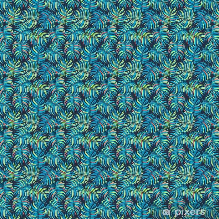 Tapeta na wymiar winylowa Jasny tropikalny wzór - Zasoby graficzne