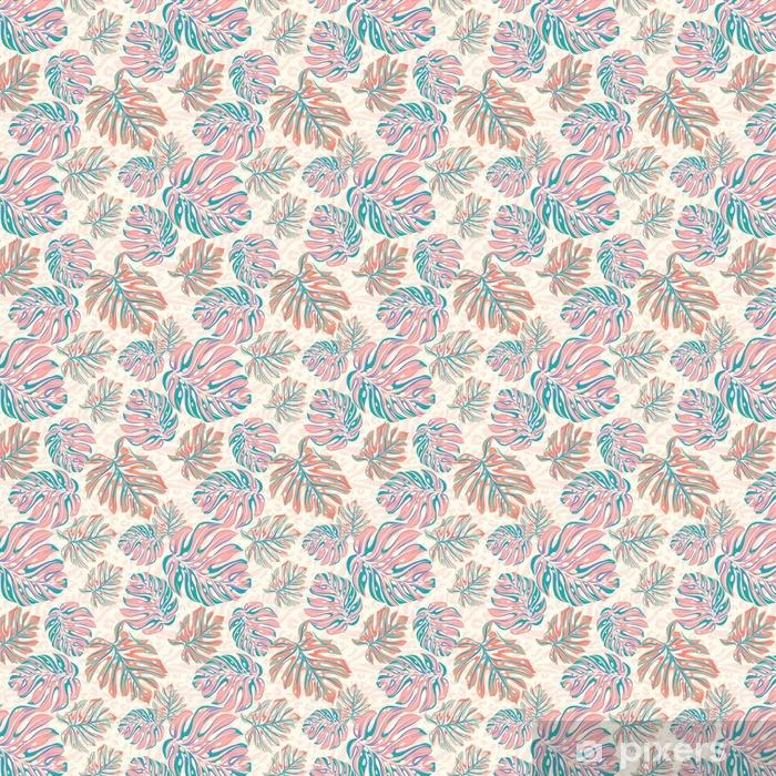 vector leaves for wallpaper, interior, uholstery. seamless design. Vinyl custom-made wallpaper - Lifestyle