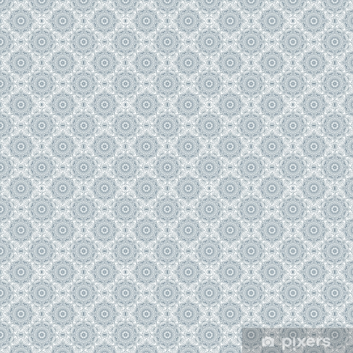 cd8d3d04c847 Oriental seamless pattern. Blue outline square Arabic, Indian, American,  Moroccan ethnic ornament