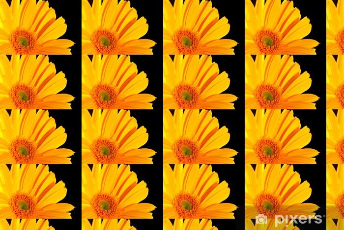 Papier peint vinyle sur mesure Gerbera - Fleurs