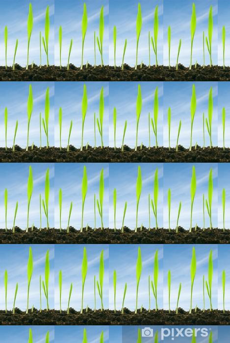 Vinylová tapeta na míru Rostliny proti obloze - Roční období