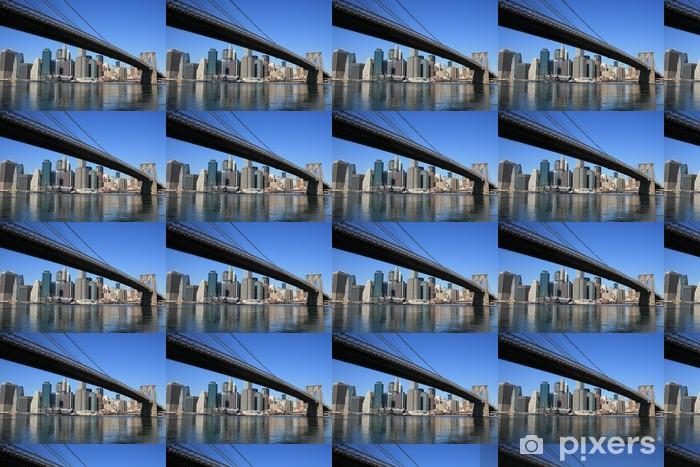 Papier peint vinyle sur mesure New yorkais - Paysages urbains